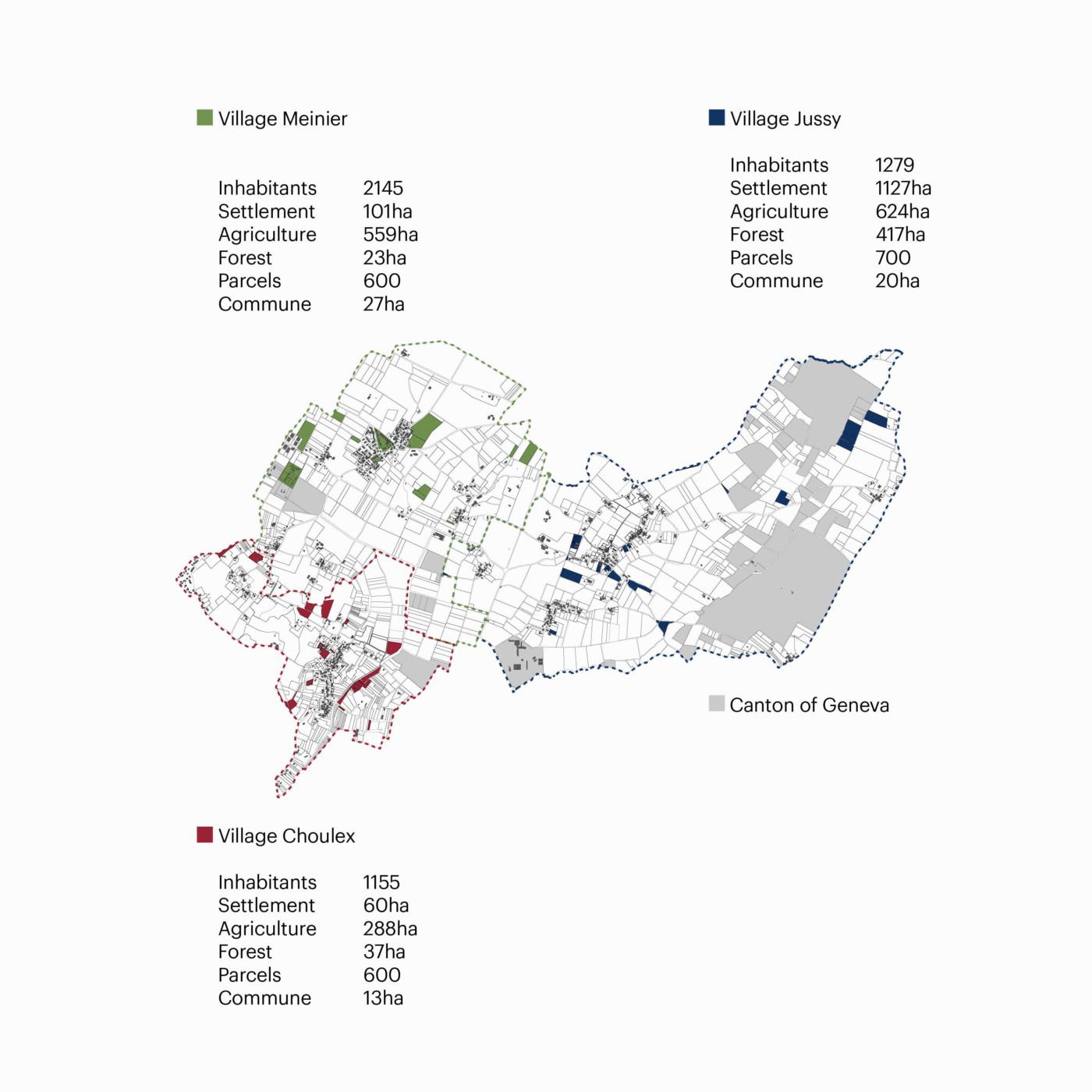 GENEVA CAMPAGNE RIVE GAUCHE ARCHITECTURE OF TERRITORY